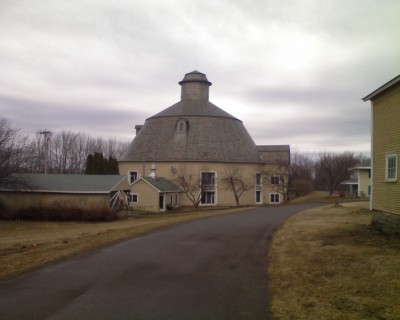 The Round Barn... apartment conversion?