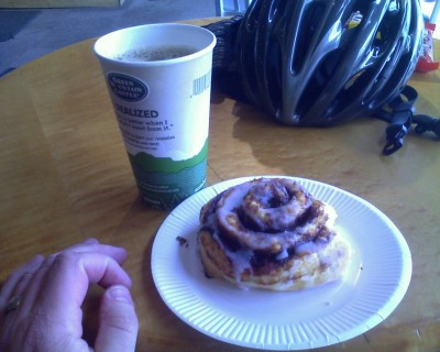 My first training ride towards my RCP (Randonneur Café Pâtisserie) Award.