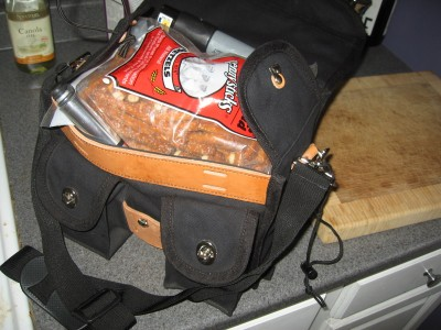 Bag of pretzels...