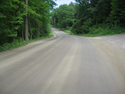 Lost Nation Rd. in Essex. Smooth.
